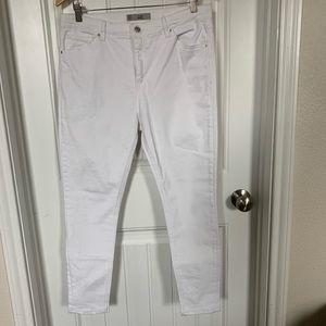 Topshop White Skinny Jeans